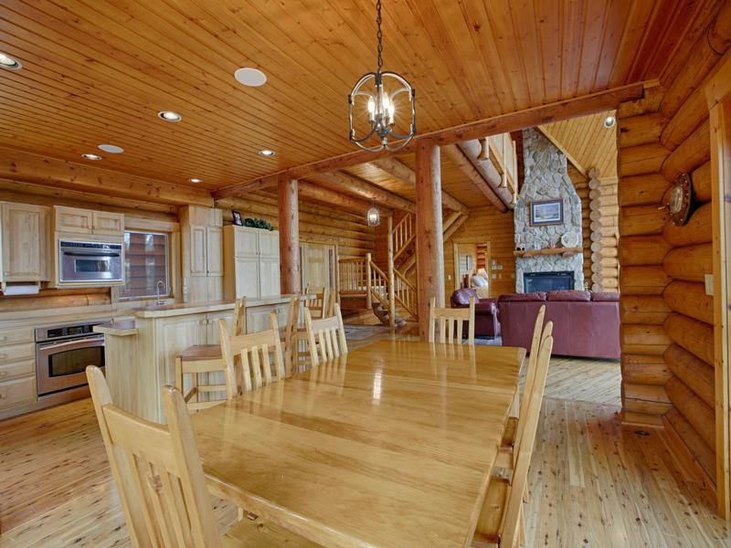 Luxury Log Home at Lake McConaughy luxury real estate