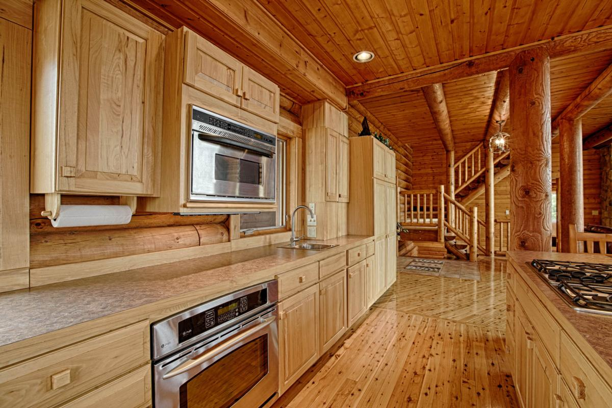 Luxury Log Home at Lake McConaughy luxury homes