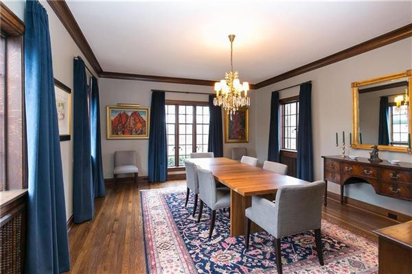 Mansions extensively restored architectural gem