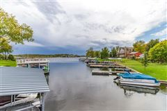 Amazing first tier lake lot has views of the lake  luxury real estate