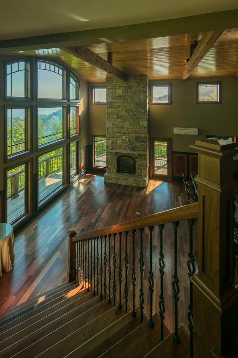 Panoramic Views of John River Gorge luxury homes