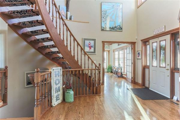 Mansions beautiful country style two story home