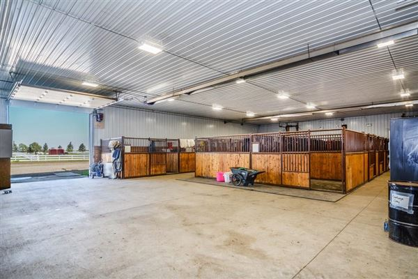 Luxury homes in Exceptional Equine Facility with Two Estate Homes