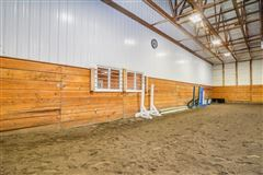 Luxury properties Exceptional Equine Facility with Two Estate Homes