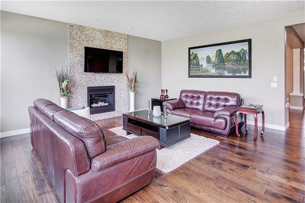 prestigious community of Aspen Woods luxury homes