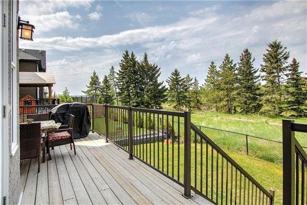 prestigious community of Aspen Woods mansions