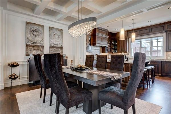 an impressive townhome mansions