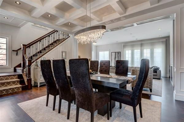 Luxury homes in an impressive townhome