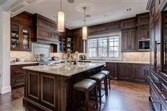 an impressive townhome luxury real estate