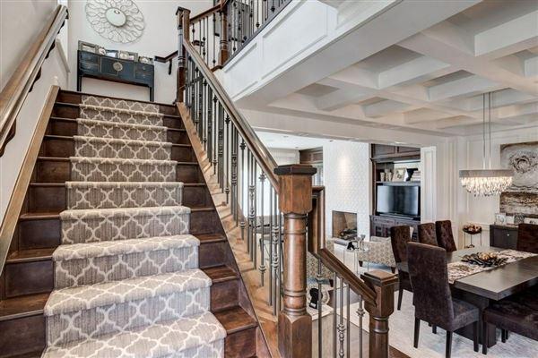 Luxury properties an impressive townhome