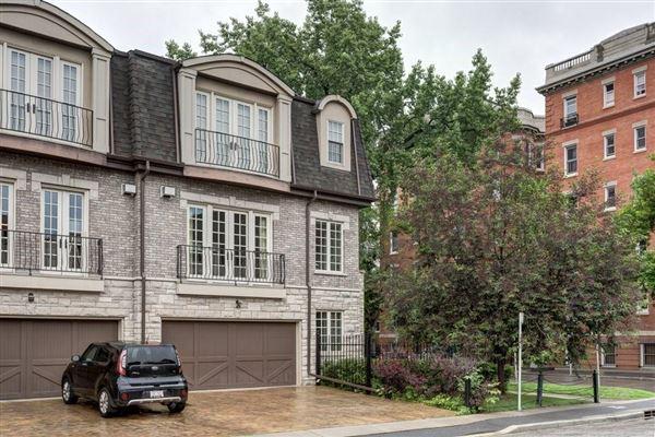 Luxury real estate an impressive townhome