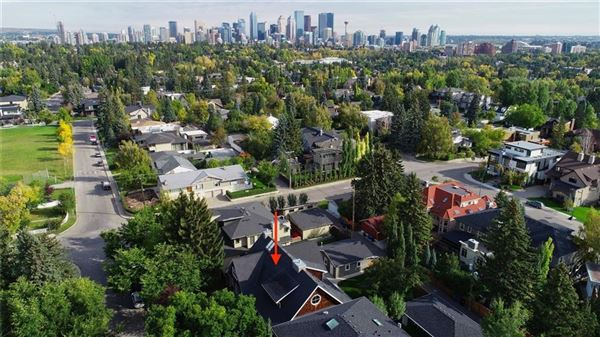 Luxury real estate an exclusive Upper Elbow Park enclave