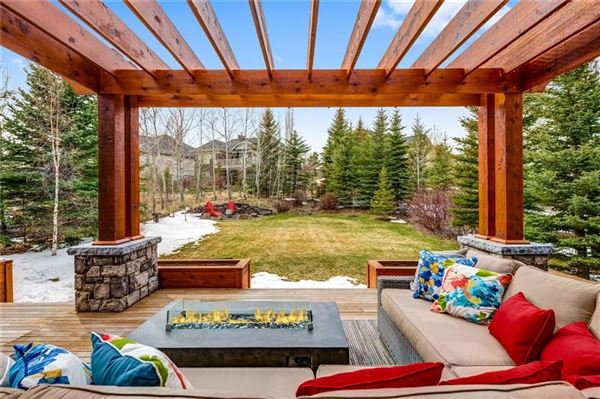 Luxury homes premier street in exclusive Elbow Valley