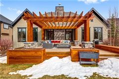 Luxury real estate premier street in exclusive Elbow Valley