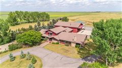 Luxury real estate Airport property in rural foothills