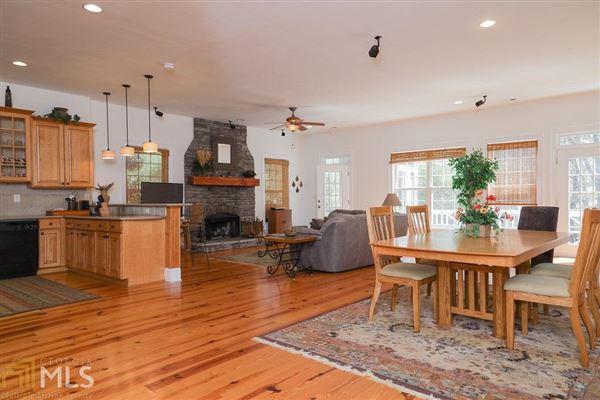 cedar shake cottage on Lake Burton luxury homes