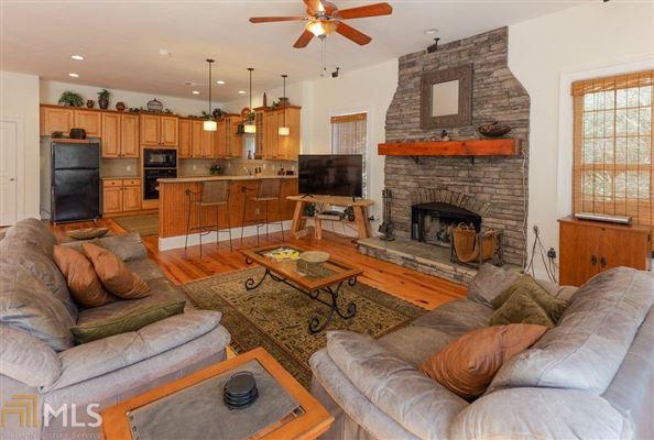 cedar shake cottage on Lake Burton luxury real estate