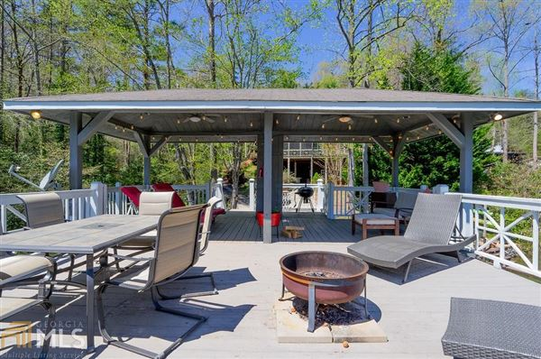 cedar shake cottage on Lake Burton luxury properties