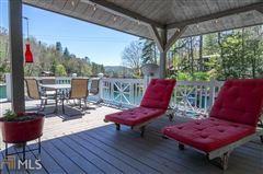 Mansions cedar shake cottage on Lake Burton