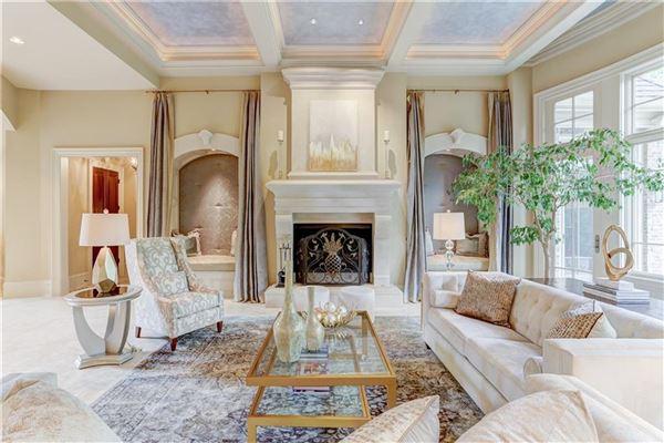 Luxury real estate beautiful private gated estate