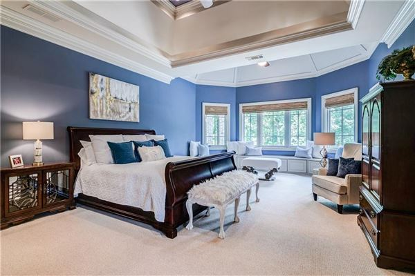 Luxury homes in beautiful private gated estate