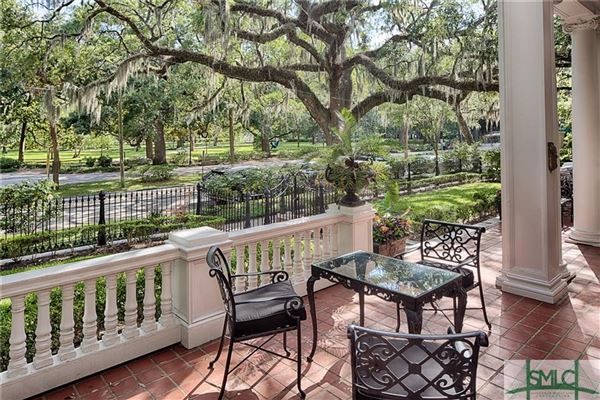 Luxury homes Overlooking Savannahs picturesque Forsyth Park