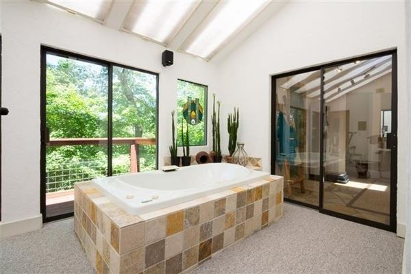 custom private retreat on Raccoon creek mansions