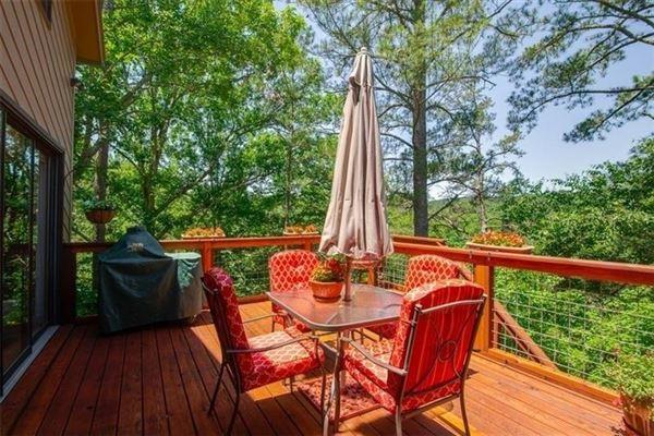 Luxury real estate custom private retreat on Raccoon creek