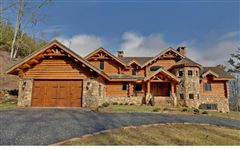 Mansions magnificent mountain estate home in hayesville