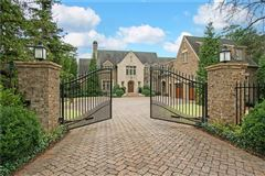 Luxury homes in manor home on a private gated lot in chastain park