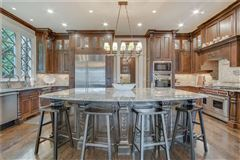 Luxury homes manor home on a private gated lot in chastain park
