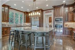 manor home on a private gated lot in chastain park luxury homes