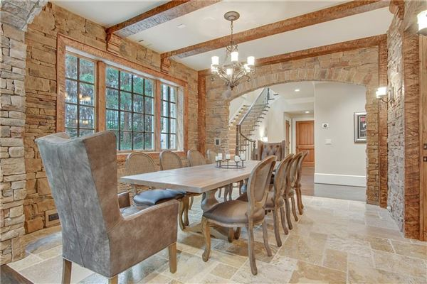 manor home on a private gated lot in chastain park luxury properties