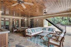 Luxury properties manor home on a private gated lot in chastain park
