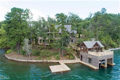 Luxury properties stately Lake Burton retreat