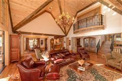 Luxury real estate stately Lake Burton retreat