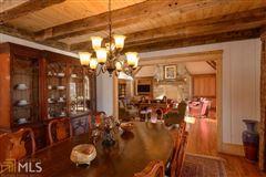 Luxury properties stately Lake Burton retreat