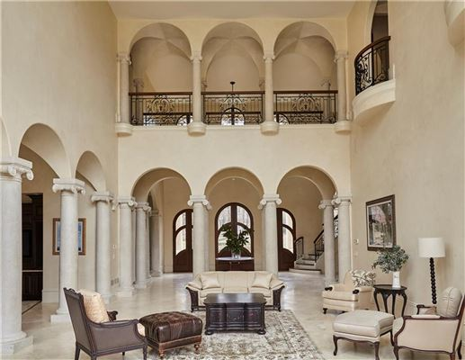 Luxury real estate Majestic European gated estate