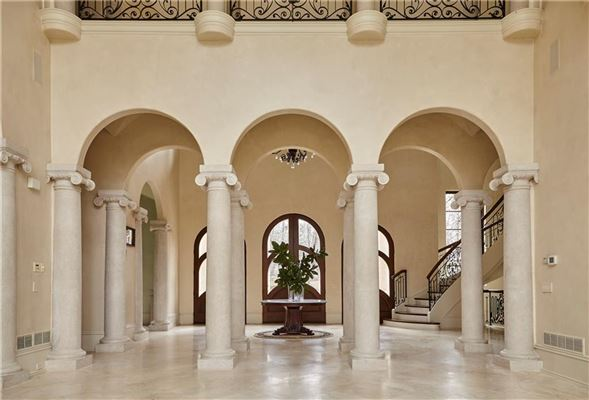 Majestic European gated estate luxury real estate