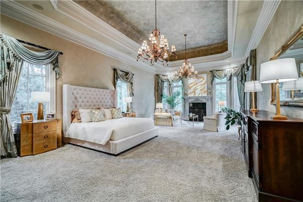 Luxury homes private gated estate on over three acres