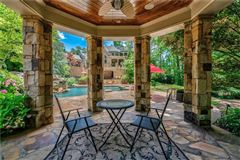 Luxury real estate private gated estate on over three acres