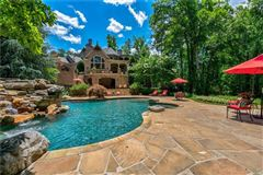 private gated estate on over three acres luxury real estate