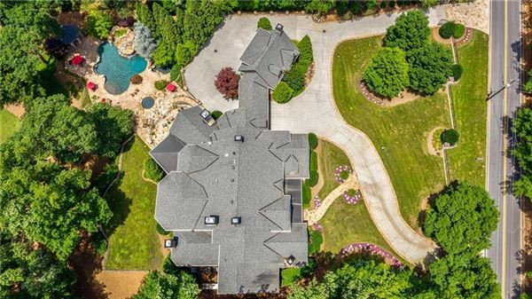 Mansions in private gated estate on over three acres