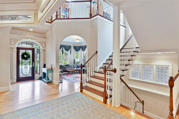 Luxury homes private, gated community