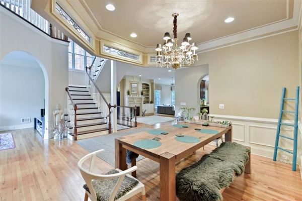 Luxury real estate private, gated community