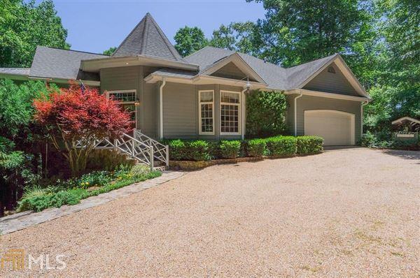 custom designed Lake Burton house luxury real estate
