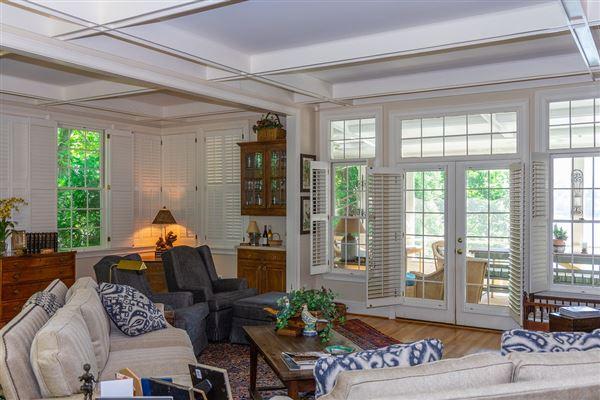 custom designed Lake Burton house luxury properties