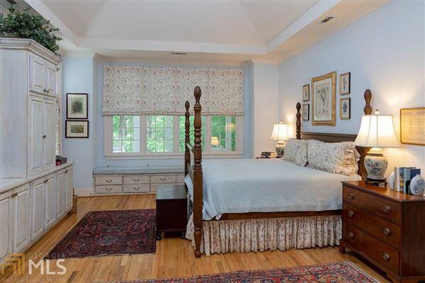 Luxury real estate custom designed Lake Burton house