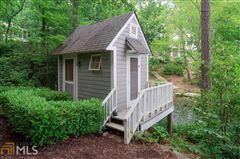 Mansions in custom designed Lake Burton house