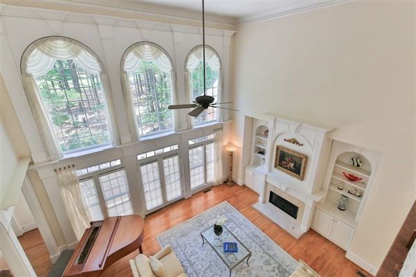 Beautiful renovation on handsome golf course estate luxury homes